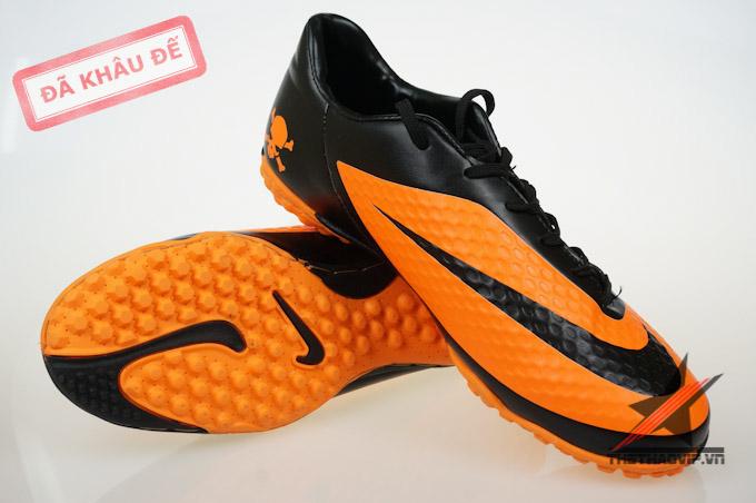 Giày đá bóng sân cỏ nhân tạo Hypervenom Phelon cam TF 1