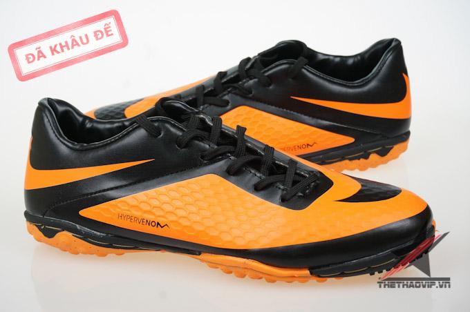 Giày đá bóng sân cỏ nhân tạo Hypervenom Phelon cam TF 2