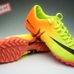 Nike Mercurial Vapor TF vàng cam tại giay da bong san co 1