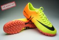 Giày đá bóng Nike Mercurial Vapor TF vàng cam tai ha noi. Random