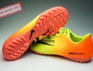 Giày đá bóng Nike Mercurial Vapor TF vàng cam_big_3