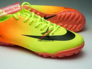 Giày đá bóng Nike Mercurial Vapor TF vàng cam_big_1