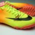 Giày đá bóng Nike Mercurial Vapor TF vàng cam_small_1