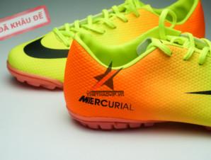Giày đá bóng Nike Mercurial Vapor TF vàng cam_big_2