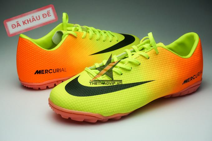 Nike Mercurial Vapor TF vàng cam 2