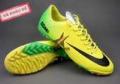 Giày bóng đá đinh dăm Nike Mercurial Vapor IX TF Xanh Vàng gia re. Random