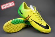 Giày bóng đá đinh dăm Nike Mercurial Vapor IX TF Xanh Vàng tai ha noi. Random