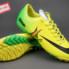Giày bóng đá đinh dăm Nike Mercurial Vapor IX TF Xanh Vàng_small_0