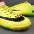Giày bóng đá đinh dăm Nike Mercurial Vapor IX TF Xanh Vàng_small_1