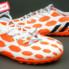 Giày đá bóng Adidas Predator TF Cam Trắng_small_1