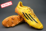 giay da bong, Giày đá bóng F50 Messi Vàng FG (Đã khâu đế)