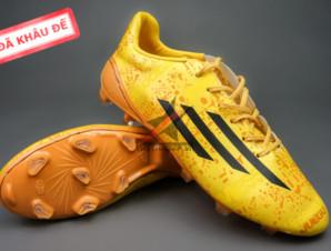 Giày đá bóng F50 Messi Vàng FG (Đã khâu đế)_big_0