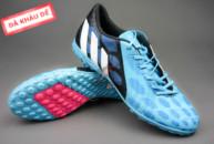 Giày đá bóng Predator Absolado xanh đen TF tai ha noi. Random