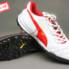 Giày đá bóng Puma 2 màu đỏ trắng TF new_small_0