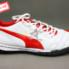 Giày đá bóng Puma 2 màu đỏ trắng TF new_small_1