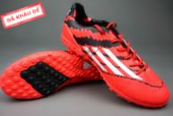 giay adidas adizero f50, Giày đá banh F10 Adizero TF Đỏ Đen