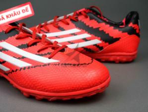 Giày đá banh F10 Adizero TF Đỏ Đen_big_1