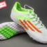 Giày đá banh F10 Adizero TF Trắng Xanh_small_0