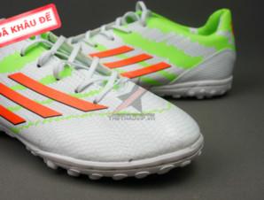 Giày đá banh F10 Adizero TF Trắng Xanh_big_1