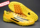 Giày đá bóng F50 Messi TF vàng gia re. Random