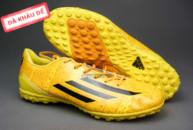 Giày đá bóng F50 Messi TF vàng tai ha noi. Random