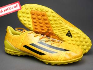 Giày đá bóng F50 Messi TF vàng_big_0