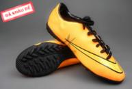 giay mercurial, Giày đá bóng Nike Mercurial V TF Vàng (Hàng VN)