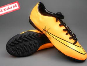 Giày đá bóng Nike Mercurial V TF Vàng (Hàng VN)_big_0