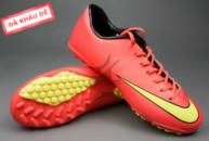 giay mercurial, Giày đá banh Nike Mercurial V TF Đỏ Vàng