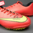 Giày đá banh Nike Mercurial V TF Đỏ Vàng_small_1