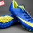 Giày đá banh Nike Mercurial V TF Xanh Vàng_small_0