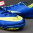 Giày đá banh Nike Mercurial V TF Xanh Vàng_small_1