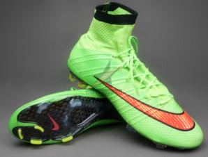 Giày bóng đá sân cỏ Mercurial Superfly IV FG Xanh_big_0