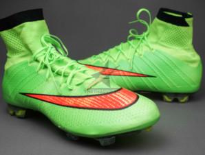 Giày bóng đá sân cỏ Mercurial Superfly IV FG Xanh_big_1