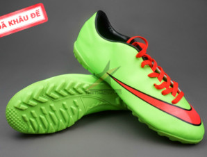 Giày bóng đá Nike Mercurial V TF Xanh Đỏ ( Hàng VN)_big_0
