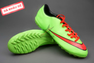 giay mercurial, Giày bóng đá Nike Mercurial V TF Xanh Đỏ ( Hàng VN)