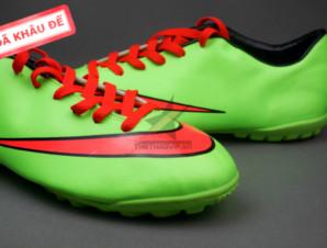 Giày bóng đá Nike Mercurial V TF Xanh Đỏ ( Hàng VN)_big_1