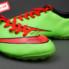 Giày bóng đá Nike Mercurial V TF Xanh Đỏ ( Hàng VN)_small_1