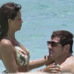 Casillas và nữ phóng viên Sara Carbonero vừa hân hoan thông báo tin vui sắp được làm bố mẹ.