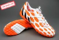 Giày đá bóng Adidas Predator TF Cam Trắng tai ha noi. Random