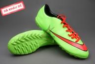 Giay da bong, Giày bóng đá Nike Mercurial V TF Xanh Đỏ ( Hàng VN)