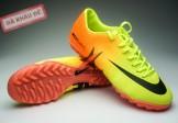Giày đá bóng Nike Mercurial Vapor TF vàng cam