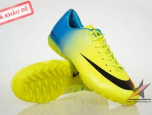 Giày đá bóng Nike Mercurial Vapor Superfly IX TF  Vàng_big_0