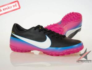 Giày đá bóng Nike Mercurial Victory III CR TF Đen Tím_big_2