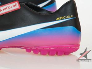 Giày đá bóng Nike Mercurial Victory III CR TF Đen Tím_big_3