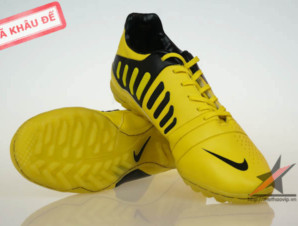 Giày đá bóng Nike CTR360 TF – Vàng Đen_big_0