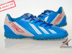 Giày đá bóng Adidas adizero f50 TF Xanh 1_big_1