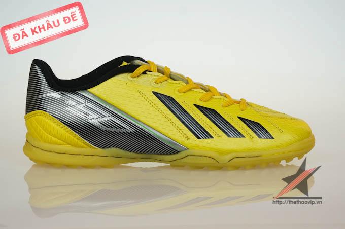 giay da bong san co nhan tao Adidas adizero f50 TF Vàng
