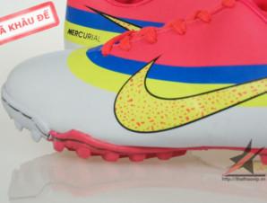Giày đá bóng Nike Mercurial CR New TF Da cam_big_3