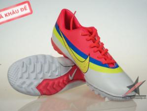 Giày đá bóng Nike Mercurial CR New TF Da cam_big_0